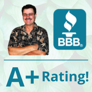 A+ Better Business Bureau Rating - AZ landscaping