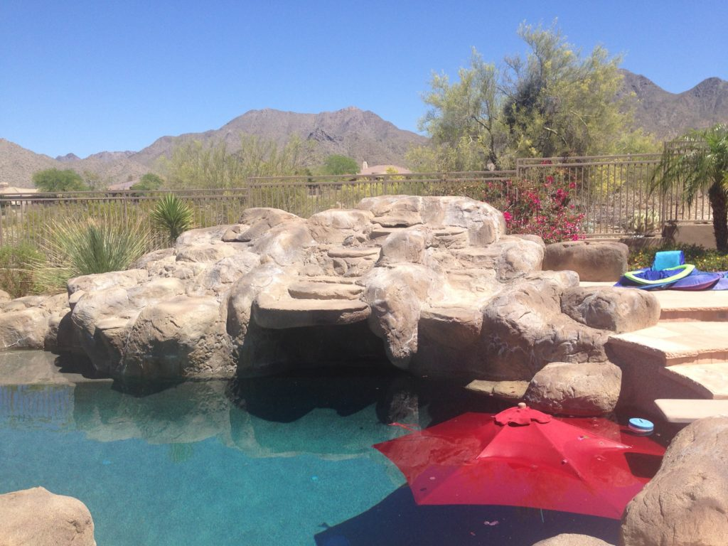 Artificial Waterfall Repair - Phoenix Arizona