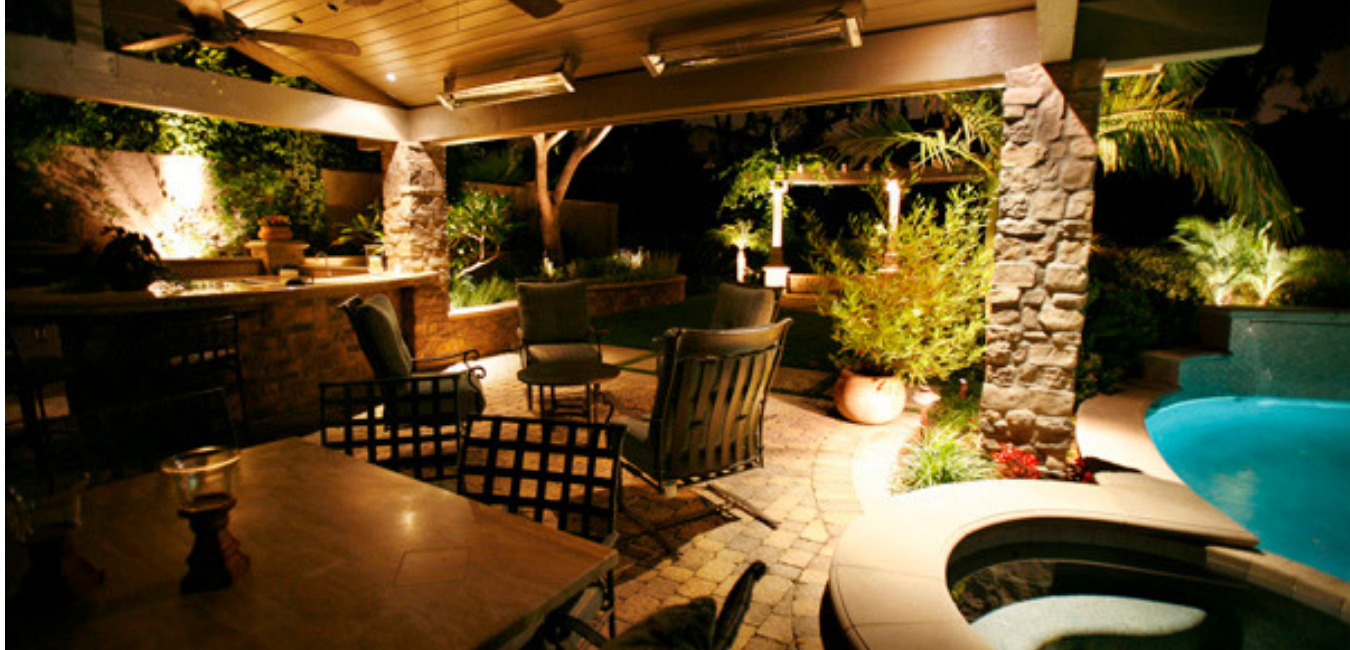 Outdoor Landscape Lighting - Caribbean Dreams Landscapes - Phoenix Arizona